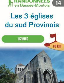 """Image du dépliant """"Les 3 églises du Sud Provinois"""""""