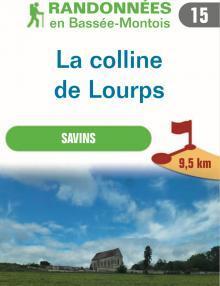 """Image du dépliant """"La colline de Lourps"""""""