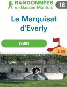 """Image du dépliant """"Le marquisat d'Everly"""""""