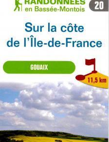 """Image du épliant """"Sur la côte de l'Ile-de-France"""""""